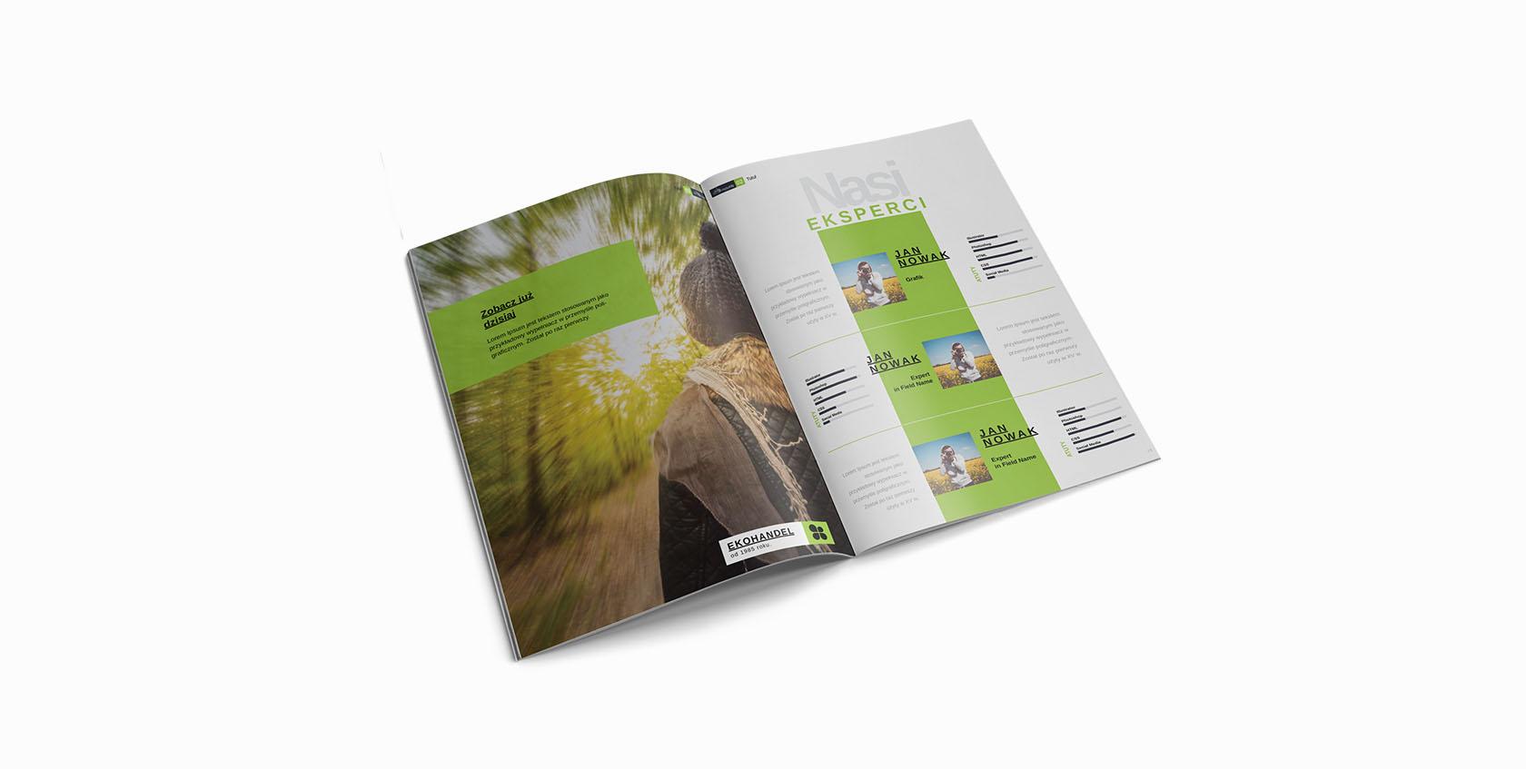 wydruk katalogów
