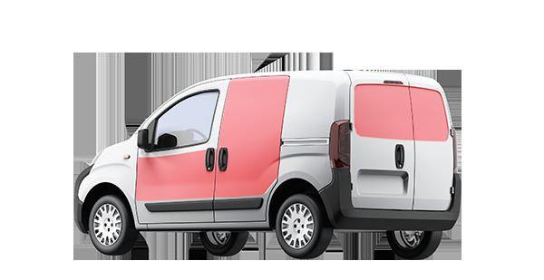 oklejanie pojazdów typu VAN wrocław