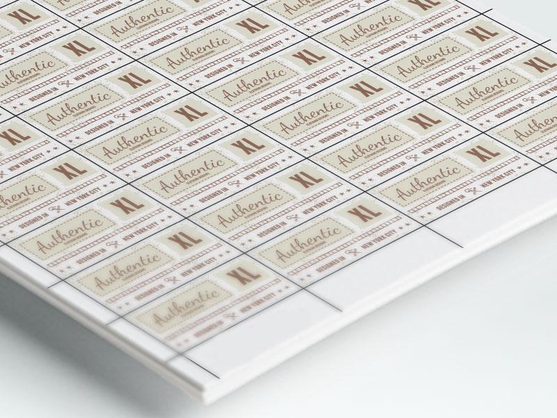 naklejki papierowe